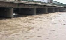 Water level in Yamuna