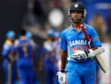 India's batsman Ajinkya Rahane
