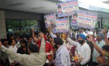 People at Mumbai airport