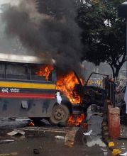 Protest in Mumbai over Assam riots turns violent