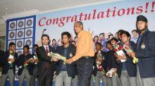 India's triumphant under-19 World Cup team