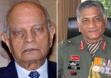 Brajesh Mishra and General (retd) VK Singh