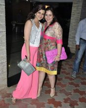 Sonali Bendre and Shrishti Arya