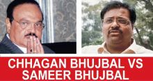 Chhagan Bhujbal and Sameer Bhujbal