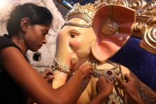 Idol of Lord Ganesha