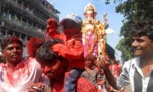 Farewell to Lord Ganesh