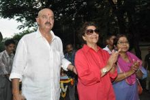 Rakesh Roshan and Pinky Roshan