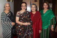 Waheeda Rehman, Asha Parekh, Shammi Aunty and Helen