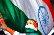 An Indian cricket fan