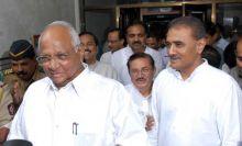 Sharad Pawar with Praful Patel, Sunil Tatkare, Madhukar Pichad and Ajit Pawar
