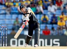 New Zealand's batsman Brendon McCullum