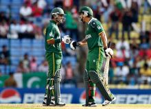 Mohammad Hafeez and Nasir Jamshed