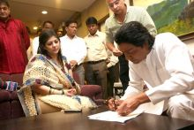 Raj Thackeray and Sharmila Thackeray