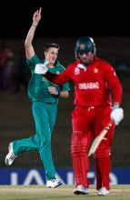Morne Morkel (left) and Brendan Taylor