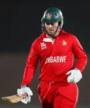 Zimbabwe's captain Brendan Taylor