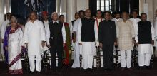 Ministers during Cabinet reshuffle