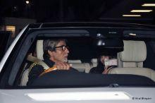 Amitabh Bachchan, Aaradhya Bachchan and Aishwarya Rai Bachchan
