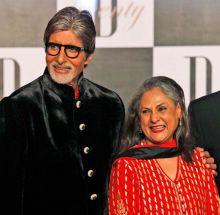 Amitabh Bachchan with Jaya