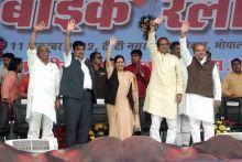 Nitin Gadkari, Shivraj Singh Chouhan, Sushma Swaraj