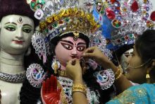 Dutta Bari Durga Puja in Bengal