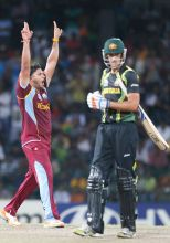 West Indies beat Australia by 74 runs