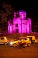 Delhi's Nila Gumbad goes pink