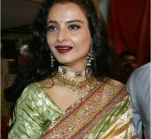 Rekha on her 58th birthday