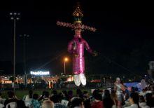 Ravana's effigy