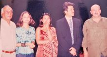 (Left to right) Yash Chopra, Aishwarya Rai Bachchan, Rani Mukerji, Anil Kapoor, and Rakesh Roshan.