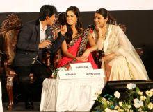 Shah Rukh Khan, Katrina Kaif, Anushka Sharma, Kolkata International Film Festival