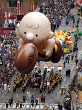A giant balloon