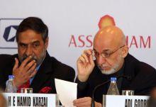 Afghnaistan President Hamid Karzai arrives in India, attends CII meet