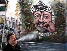 Arafat remains exhumed
