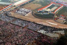 Congress Maha rally at Ramlila Maidan