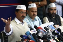 Kejriwal targets HSBC, Ambanis over black money