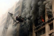 Fire at Delhi's Himalaya House