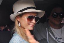 Paris Hilton at India Resort Fashion Week
