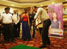 Virender Sehwag during an event