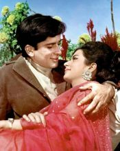 Shashi Kapoor and Nanda