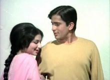 Shashi Kapoor and Sharmila Tagore