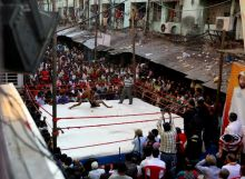 Ways to celebrate Diwali: Wrestling in Kolkata