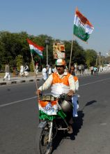 Rajasthan Pradesh Congress Committee hold a Sankalp Rally in Jaipur