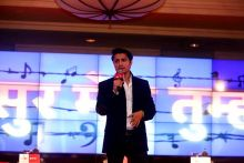 Ali Zafar at Agenda Aaj Tak 2012