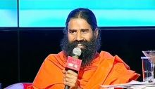 Baba Ramdev at the Agenda Aaj Tak 2012