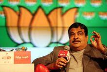 Nitin Gadkari at Agenda Aaj Tak 2012