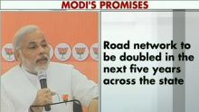 Narendra Modi releases BJP manifesto for Gujarat assembly polls 2012