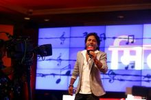Kailash Kher at Agenda Aaj Tak 2012.