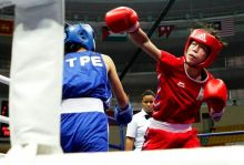 Mary Kom becomes first Indian woman boxer to win a medal at the Olympics.
