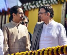 Uddhav Thackeray and Suresh Oberoi