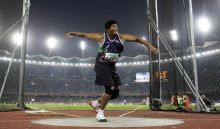 Vikas Gowda becomes first Indian field athlete to quaslify for the Olympic finals.